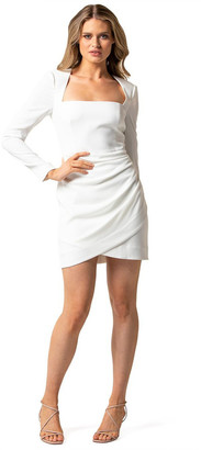 Forever New Cara Long Sleeve Mini Dress