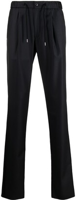Giorgio Armani Cashmere-Virgin Wool Blend Trousers