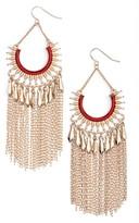 Adia Kibur Women's Chain Fringe Earrings
