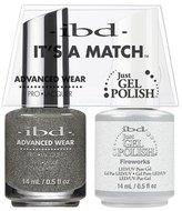 "IBD Advanced Wear - ""It's A Match"" Duo - Fireworks - 14ml / 0.5oz Each"