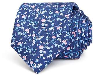 Bloomingdale's The Men's Store at Floral Print Silk Classic Tie - 100% Exclusive