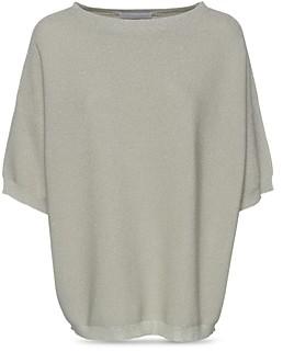 Fabiana Filippi Dolman Sleeve Metallic Sweater