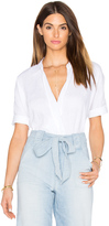 7 For All Mankind Cross Front Top