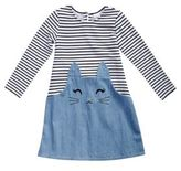 Sweet Heart Rose Sweetheart Rose Little Girl's Striped Bunny Dress