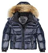 SAM. Boys' Fur-Trimmed Puffer Jacket - Big Kid