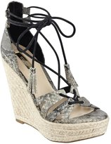 GUESS Ollina Python-Print Wedges