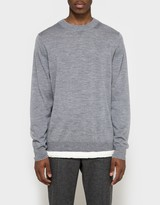 Sacai Pullover in Light Grey