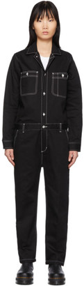 Carhartt Work In Progress Black Manton Coverall