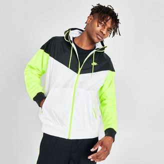 Nike Men's Sportswear Colorblock Windrunner Hooded Jacket