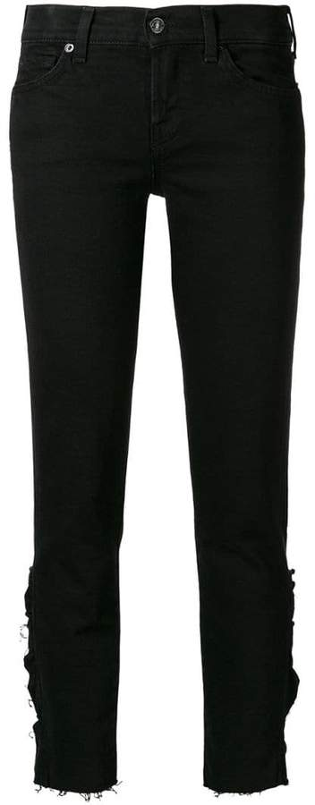 7 For All Mankind distressed effect jeans