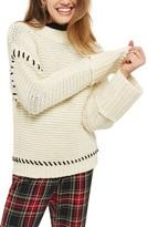 Topshop Women's Whipstitch Sweater