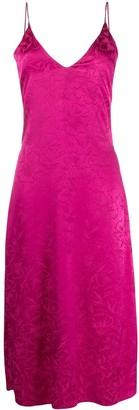 MSGM Jacquard Print Dress