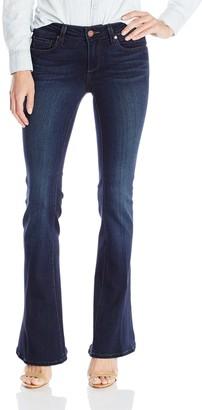 Paige Women's Petite Size Lou Flare Jeans-Clark 26