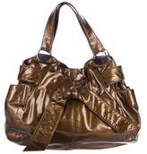 Kooba Elisha Patent Leather Bow Bag