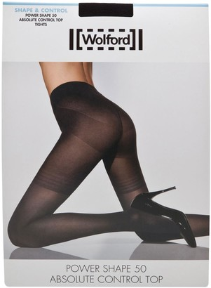Wolford Black power shape tights