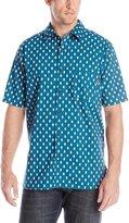 Woolrich Men's Off Road Printed Short Sleeve Shirt