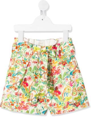 Bonpoint Floral-Print Shorts