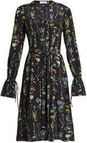Altuzarra Leighton floral-print long-sleeved midi dress