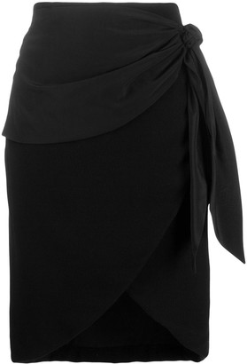 FEDERICA TOSI High-Waisted Wrap Skirt