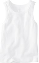 Hanna Andersson White Organic Cotton Undershirt