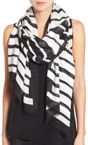 Kate Spade Women's 'Piano Keys' Twill Scarf