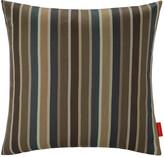 Vitra Miller Stripe Cushion - 40x40cm - Beige/Chocolate