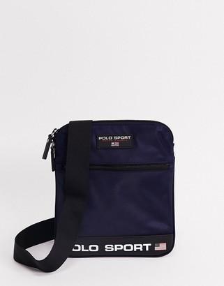 Polo Ralph Lauren Sport flight bag in navy
