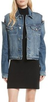 Frame Women's Le Cutout Denim Jacket