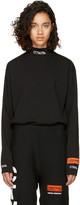Heron Preston Black Long Sleeve 'For You' 'CTNMB' T-Shirt