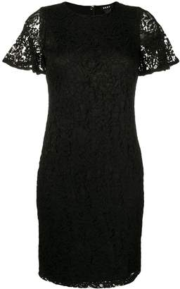 DKNY fitted lace dress