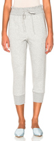3.1 Phillip Lim French Terry Jogger Pants in Gray.