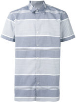 Edwin striped polo shirt