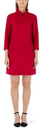 Marc Cain Additions Women's HA 21.08 J30 Knee-Length Long Sleeve Dress,12 (Manufacturer Size: )