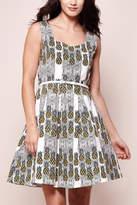 Yumi Printed Pineapple Dress