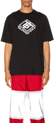 Burberry Graphic Tee in Black | FWRD