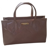 Louis Vuitton Pink/Nude Patent Bag