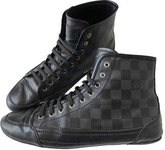 Louis Vuitton Anthracite Cloth Trainers