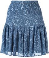 MICHAEL Michael Kors printed flared skirt