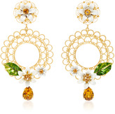 Dolce & Gabbana Daisy Clip Earrings