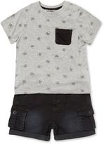 Hudson Skull Top and Shorts