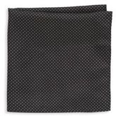 Saks Fifth Avenue Silk Dotted Pocket Square