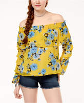 The Edit By Seventeen Juniors' Off-The-Shoulder Top, Created for Macy's