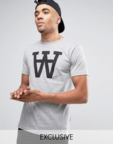 Wood Wood Large WW Logo T-Shirt Exclusive
