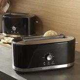 Crate & Barrel KitchenAid ® Onyx Black Toasters