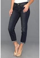 Calvin Klein Jeans Vintage Comfort Stretch City Worn Wash Straight Crop Jean (Dark Wash) - Apparel