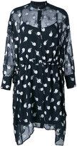 Rag & Bone floral shirt dress - women - Silk/Polyester - M