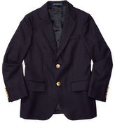 Ralph Lauren 8-20 Wool Brass-Button Sport Coat