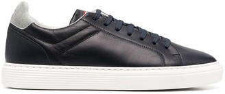 Brunello Cucinelli Low-Top Leather Sneakers