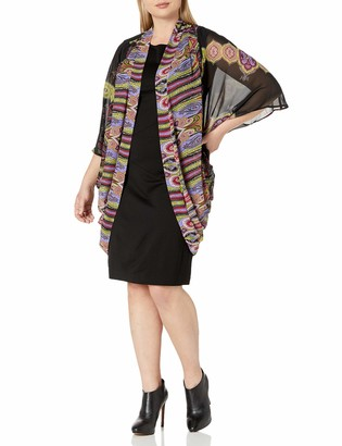 Single Dress Women's Plus Size Cocoon Kimono Sweater
