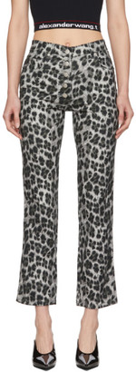 Miaou Grey Leopard Junior Trousers